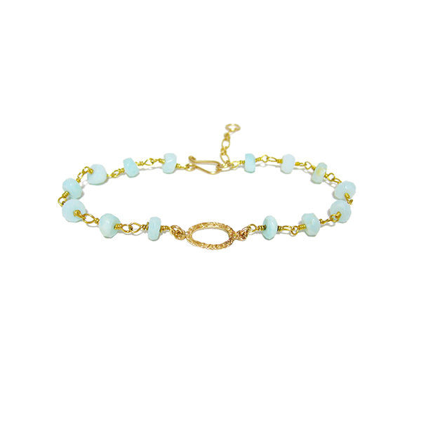 Aquanova Gemstone Bracelet