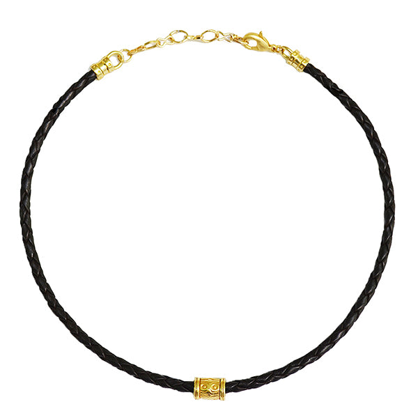 Amos Leather Choker