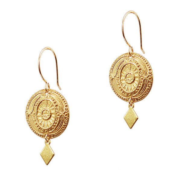 Antonina Coin Earrings