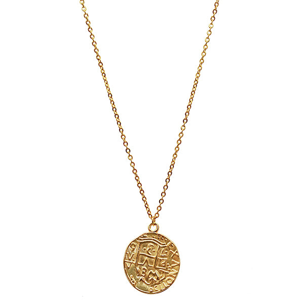 Aubria Coin Necklace