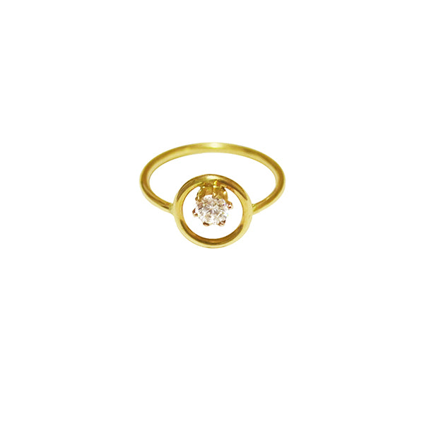 Cara CZ Diamond Ring