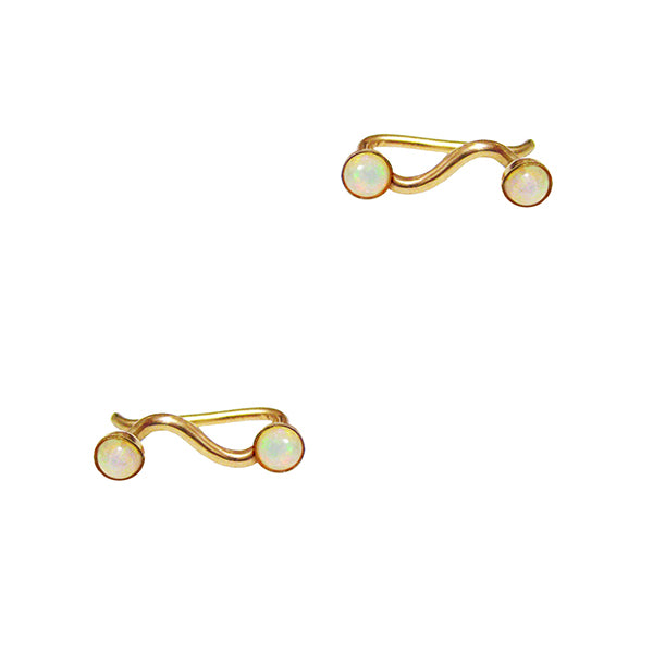 Quinn Teardrop Pave Earrings