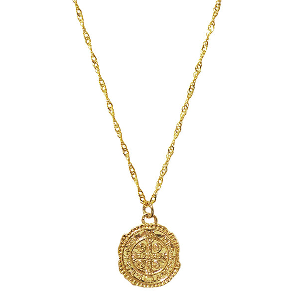 Gideon Coin Necklace
