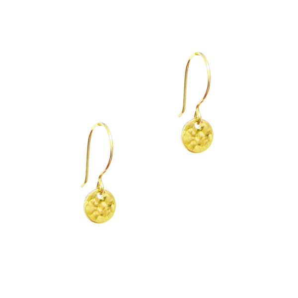 Halee Mini Coin Earrings