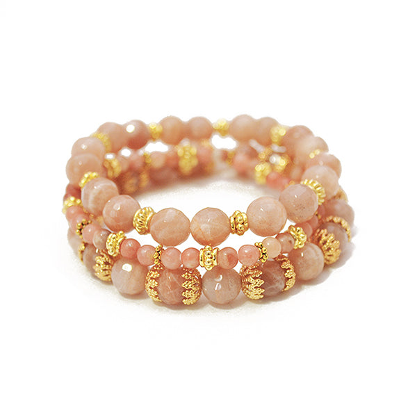 Holly Sunstone Bracelet Set