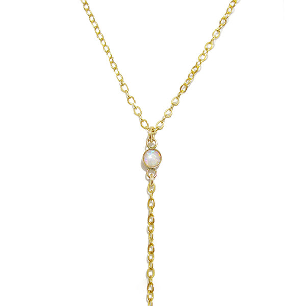 Kiora Lariat Necklace