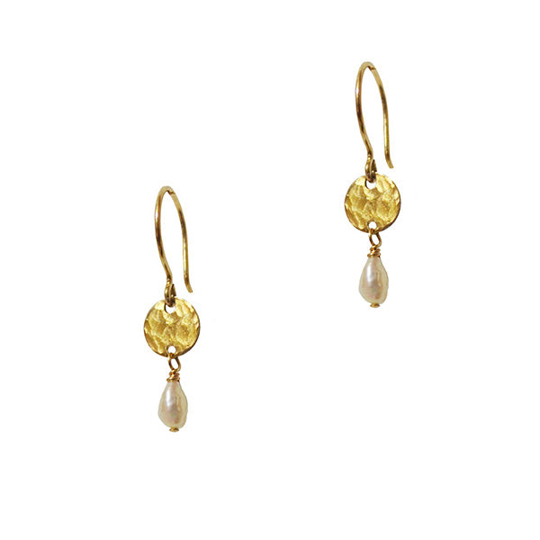 Lina Pearl Drop Earrings