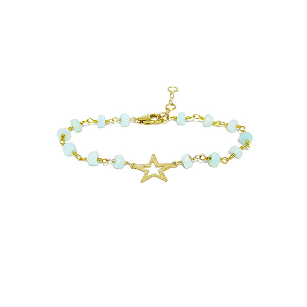 Mint Starlight Bracelet