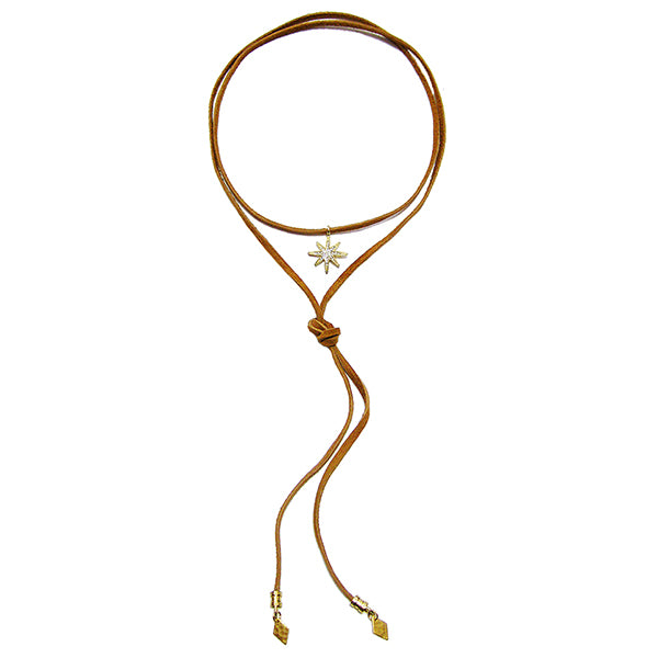 Morning Star Bolo Necklace