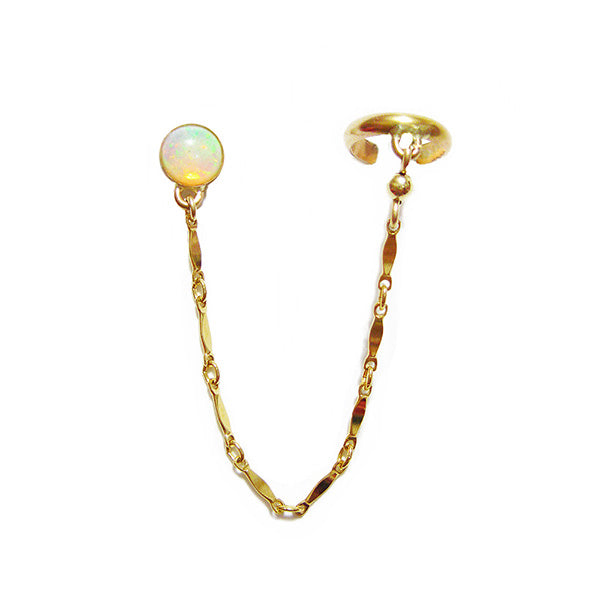 Opaline Earring and Cuff