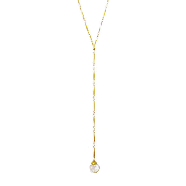 On The Rocks Lariat Necklace