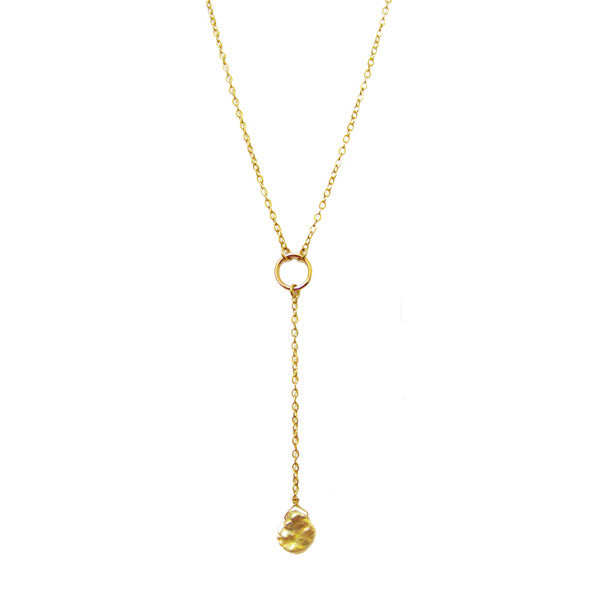 Pearl Cove Lariat Necklace