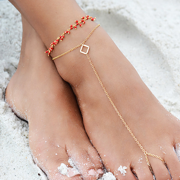 Racquel Anklet