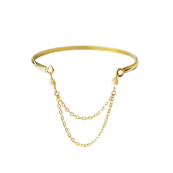 Seneca Chain Bangle