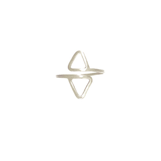 Seraphina Double Pyramid Ring