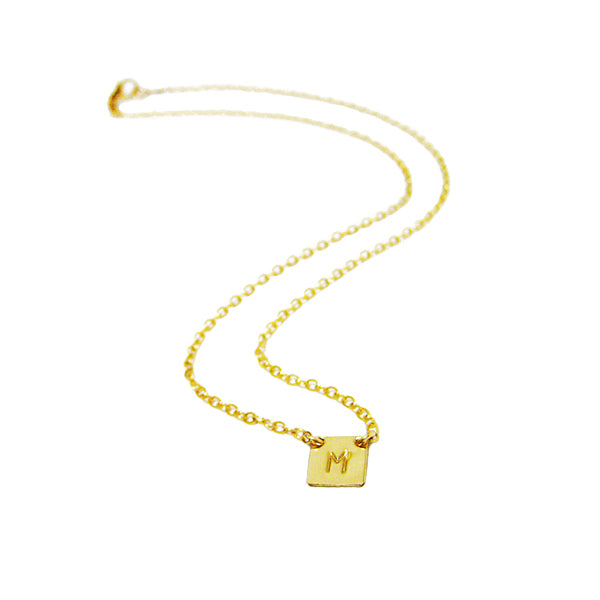 Signature Initial Necklace