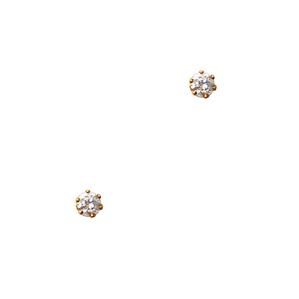 Zuri CZ Mini Stud Earrings