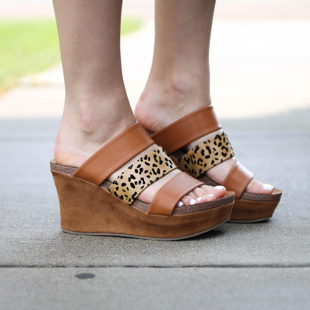 Matisse Gina Wedge in Leopard-Womens-Eclectic-Boutique-Clothing-for-Women-Online-Hippie-Clothes-Shop