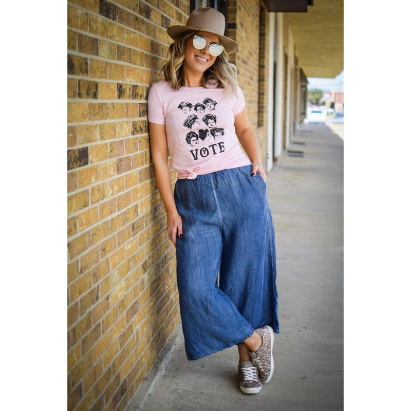Denim wide legged pants-Womens-Eclectic-Boutique-Clothing-for-Women-Online-Hippie-Clothes-Shop