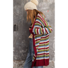 Multi-striped Boyfriend Cardigan-Womens-Eclectic-Boutique-Clothing-for-Women-Online-Hippie-Clothes-Shop