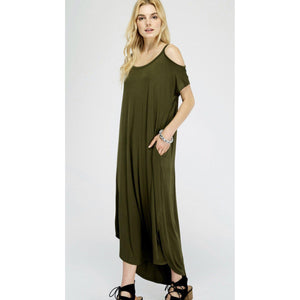 The Dirty Martini Cold Shoulder Dress-Womens-Eclectic-Boutique-Clothing-for-Women-Online-Hippie-Clothes-Shop