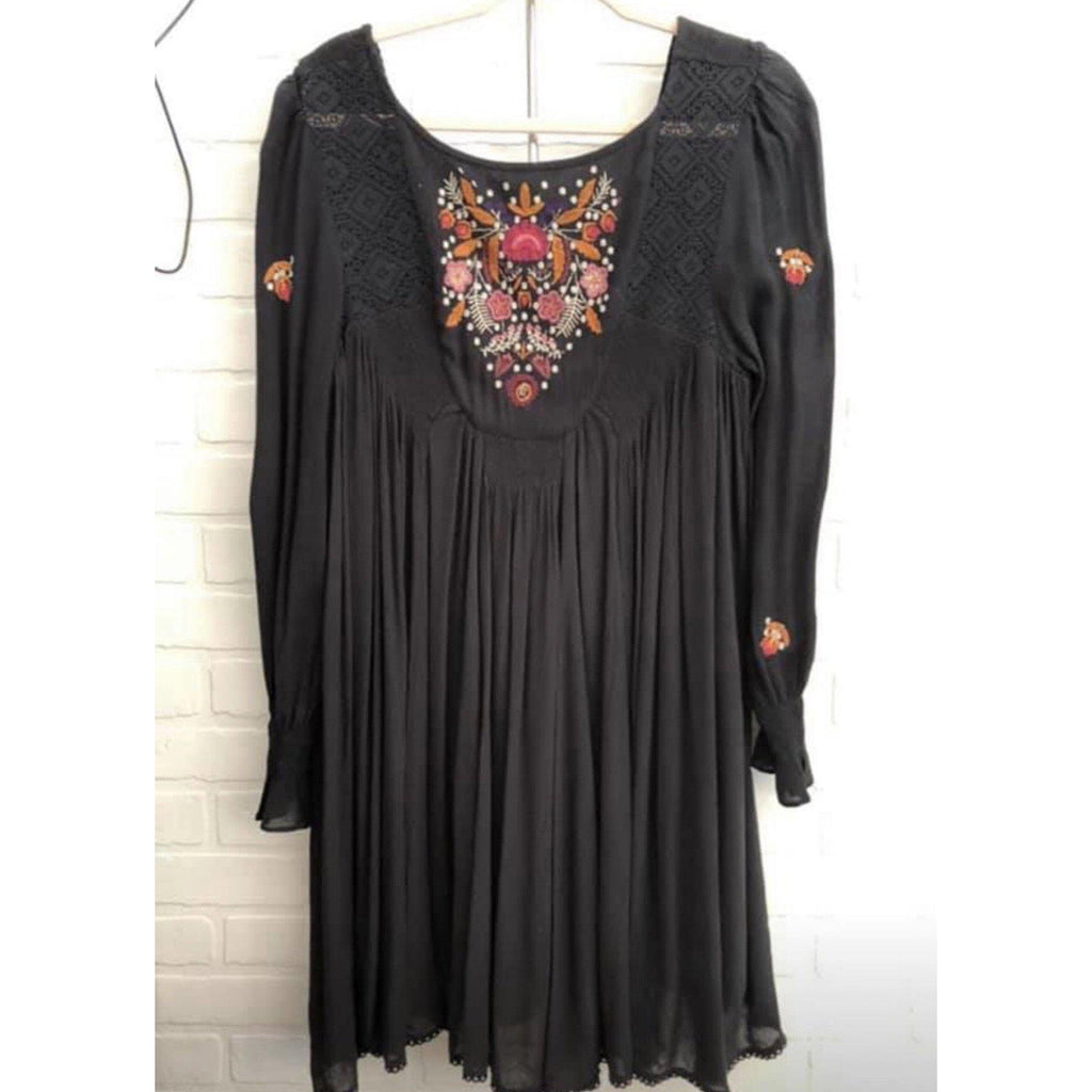 Free People Gothic Garden Dress-Womens-Eclectic-Boutique-Clothing-for-Women-Online-Hippie-Clothes-Shop