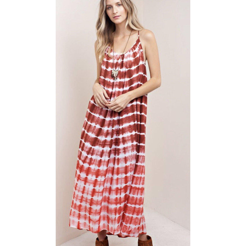 The Janis Tie Dye Maxi Dress