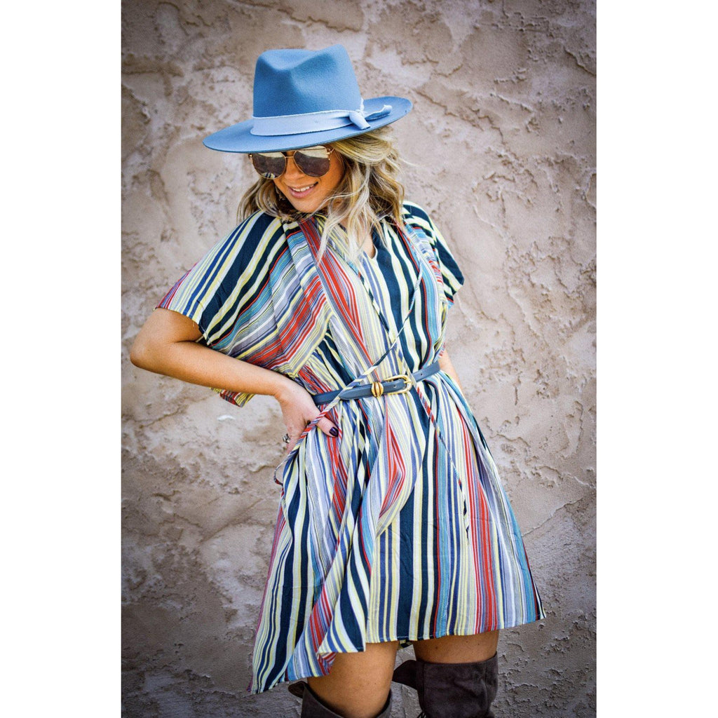 Lucky Stripe Dress-Womens-Eclectic-Boutique-Clothing-for-Women-Online-Hippie-Clothes-Shop