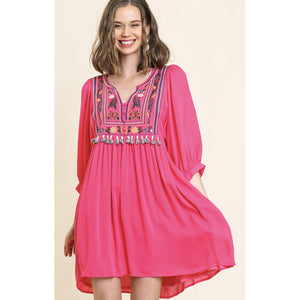In the Pink Dress-Womens-Eclectic-Boutique-Clothing-for-Women-Online-Hippie-Clothes-Shop