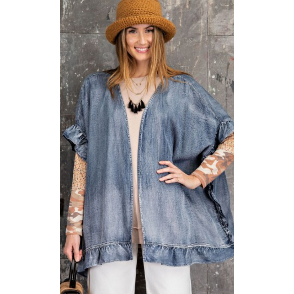 Denim Daze Jacket-Womens-Eclectic-Boutique-Clothing-for-Women-Online-Hippie-Clothes-Shop