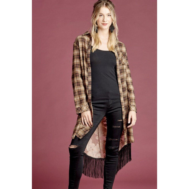 The Durango Plaid Duster