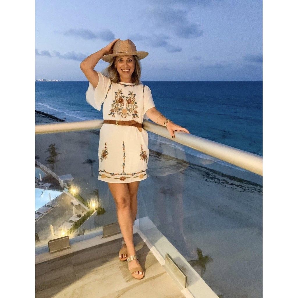 Vacation to Mexico Embroidered Dress-Womens-Eclectic-Boutique-Clothing-for-Women-Online-Hippie-Clothes-Shop