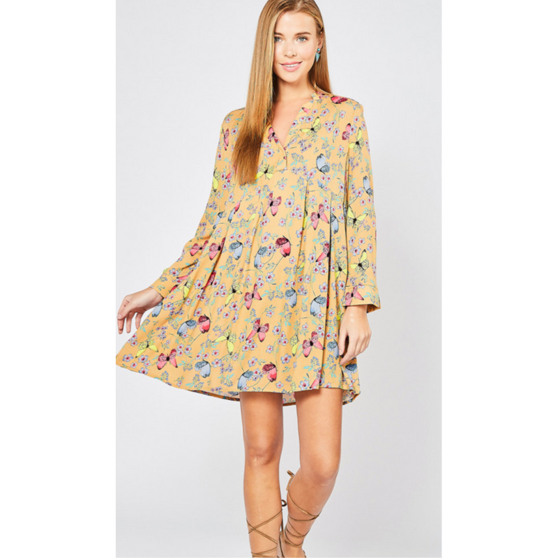 Butterflies are Free Dress-Womens-Eclectic-Boutique-Clothing-for-Women-Online-Hippie-Clothes-Shop