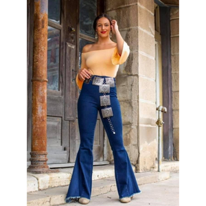 Dark Denim Bell Bottoms-Womens-Eclectic-Boutique-Clothing-for-Women-Online-Hippie-Clothes-Shop