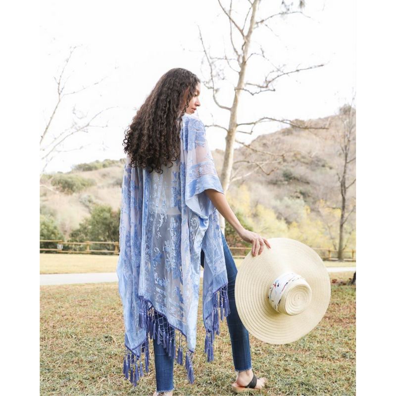 The Sky's the Limit Kimono-One size-Womens-Eclectic-Boutique-Clothing-for-Women-Online-Hippie-Clothes-Shop