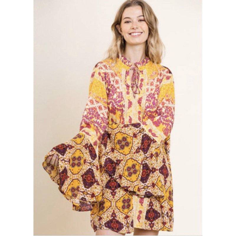 Lemon Tree Dress/Tunic-Womens-Eclectic-Boutique-Clothing-for-Women-Online-Hippie-Clothes-Shop