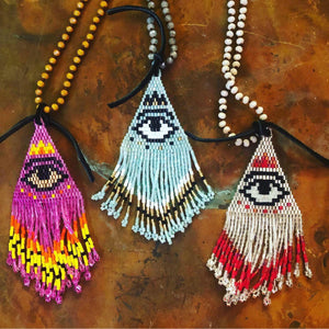 Protective Eye Necklaces-Womens-Eclectic-Boutique-Clothing-for-Women-Online-Hippie-Clothes-Shop