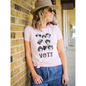 Vote Suffragette T-shirt-Womens-Eclectic-Boutique-Clothing-for-Women-Online-Hippie-Clothes-Shop