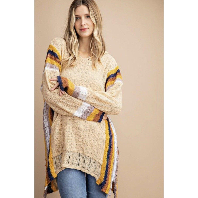 Mellow Yellow Hooded Sweater