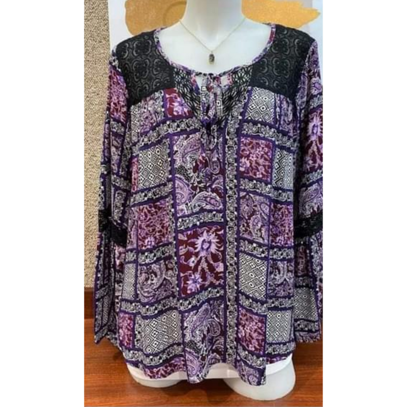 Plum Boho Bazaar Blouse-Womens-Eclectic-Boutique-Clothing-for-Women-Online-Hippie-Clothes-Shop