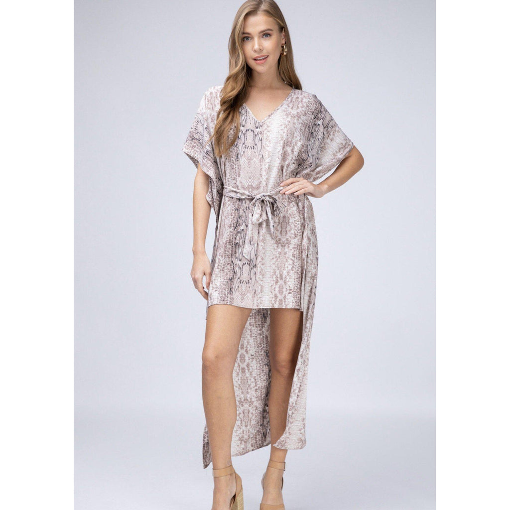 Snake Charmer Snake Print Tunic/Dress-Womens-Eclectic-Boutique-Clothing-for-Women-Online-Hippie-Clothes-Shop