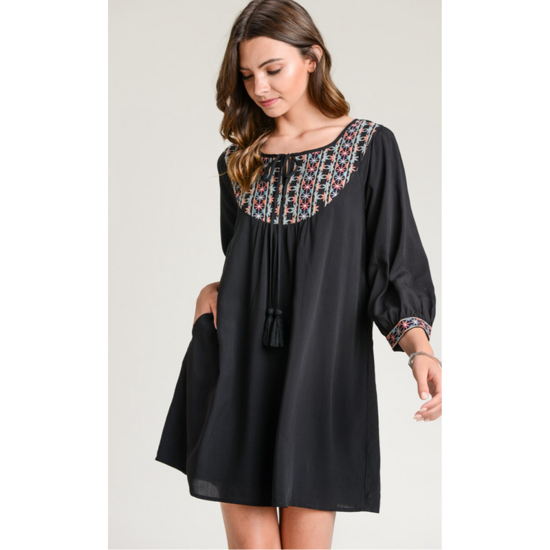 Santa Fe Plains Dress/Tunic-Womens-Eclectic-Boutique-Clothing-for-Women-Online-Hippie-Clothes-Shop