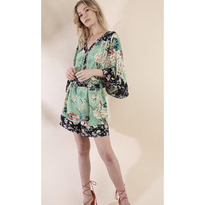 Bonsai Floral Romper-Womens-Eclectic-Boutique-Clothing-for-Women-Online-Hippie-Clothes-Shop