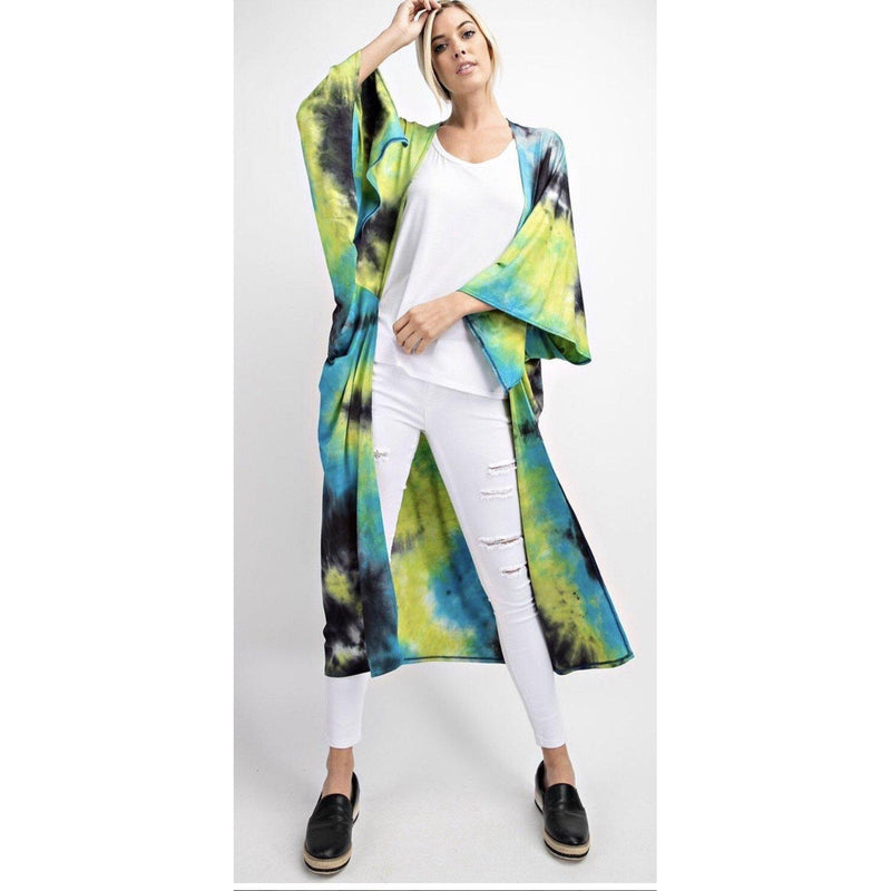 Mother Earth Tie Dye Duster