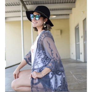 Gray Gardens Lace Duster
