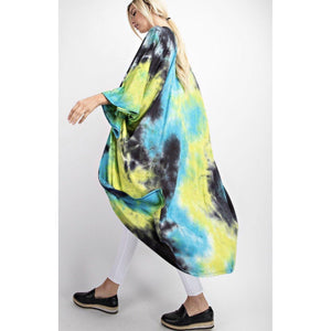 Mother Earth Tie Dye Duster-Womens-Eclectic-Boutique-Clothing-for-Women-Online-Hippie-Clothes-Shop