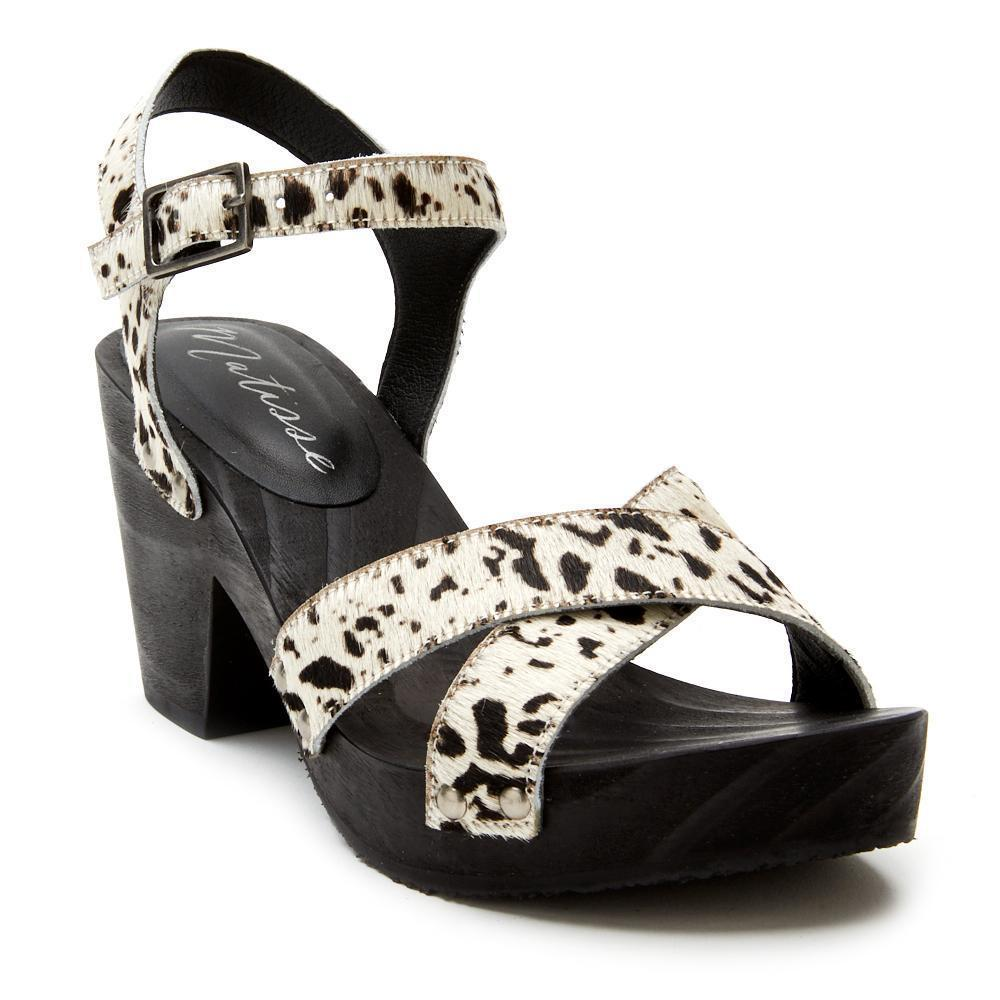 Matisse Jump In Sandal in Black Spot-Womens-Eclectic-Boutique-Clothing-for-Women-Online-Hippie-Clothes-Shop