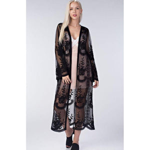 The Black Widow Duster-Womens-Eclectic-Boutique-Clothing-for-Women-Online-Hippie-Clothes-Shop