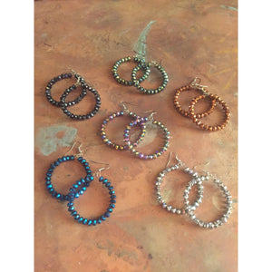 Sparkle Plenty Hoop Earrings