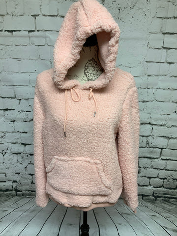 Fuzzy Pullover - Pink